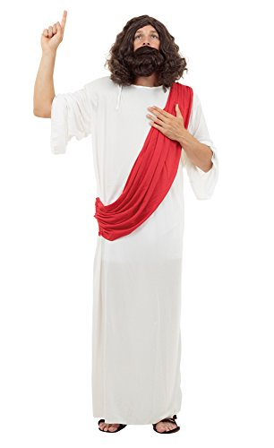 Bristol Novelty AC222 Jesus Costume, Chest Size 42-44-Inch