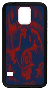 Fashion Skull Chicago White Sox Case Cover for Samsung Galaxy S5, Laser Technology Material