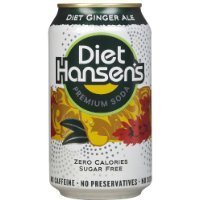 Hansen Beverage Diet Ginger Ale Soda (4 - 6 Packs), 12-Ounce Cans (Pack of 24)