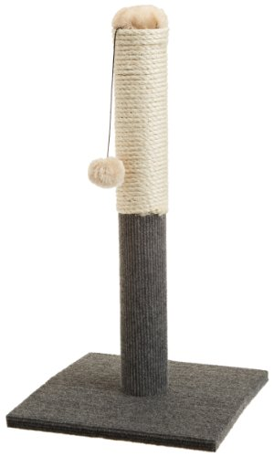 ASPCA AS-6130 Cat Scratching Post, Gray