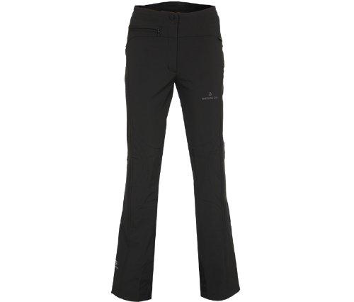 Bergson Damen Softshell Skihose SWITCH, black [900], 48 - Damen