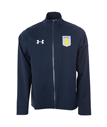 2016-2017 Aston Villa Waterproof Shell Jacket (Navy Cadet) Aston Villa Training