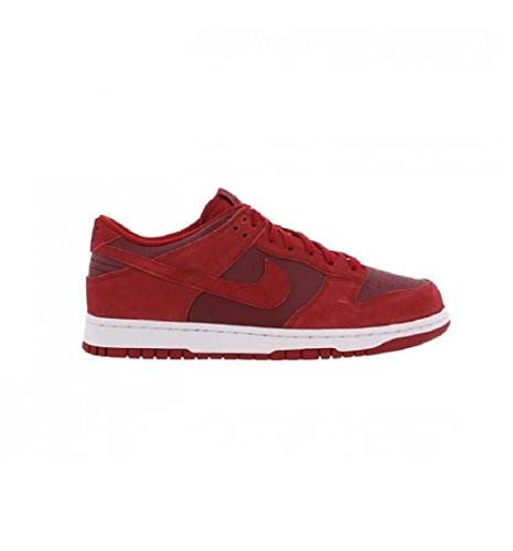 Nike Dunk Low, Scarpe da Basket Uomo gym red team white 601