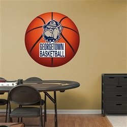 NCAA Georgetown Hoyas Basketball Logo Wall Graphic (Hoyas Basketball Georgetown Ncaa)
