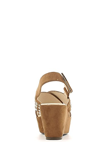 Cafenoir XG919 Wedge sandals Frauen Braun