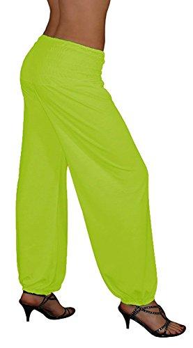 S&LU - Pantalón - para mujer verde kiwi