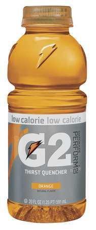 Low Calorie Sports Drink Ready to Drink, Orange 20 oz., PK24