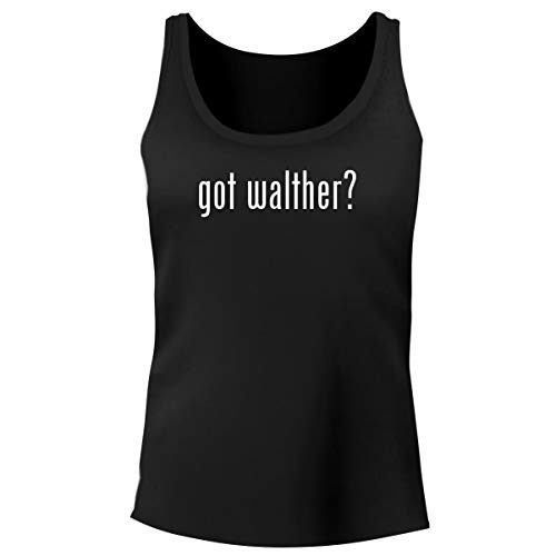 Laser Walther Cp99 - One Legging it Around got Walther? - Women's Funny Soft Tank Top, Black, X-Large