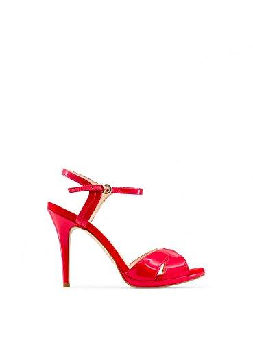 Made In Italia - PERLA Damen Sandalen Fersen 10 cm Rot