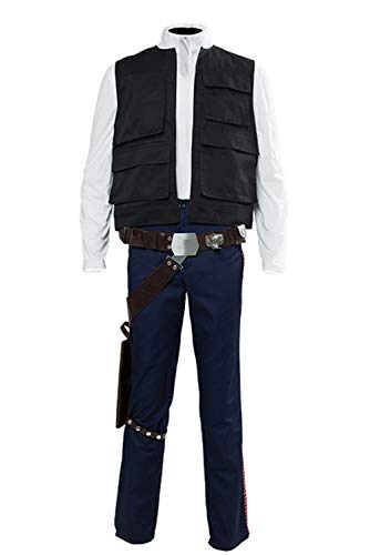 Carbonite Halloween Costume (Men's Han Solo Cosplay Costume Adult Halloween Cosplay Outfits Han Solo Costume Vest)