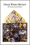 img - for Owen Wister Review 20th Anniversary Edition Spring 1998 book / textbook / text book