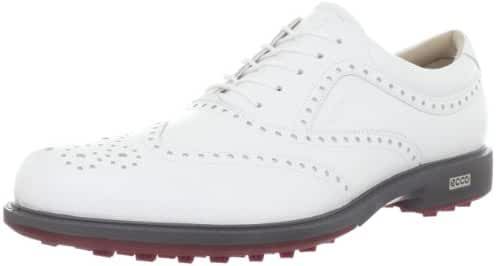 ECCO Men's Tour Hybrid Wing Tip Golf Shoe