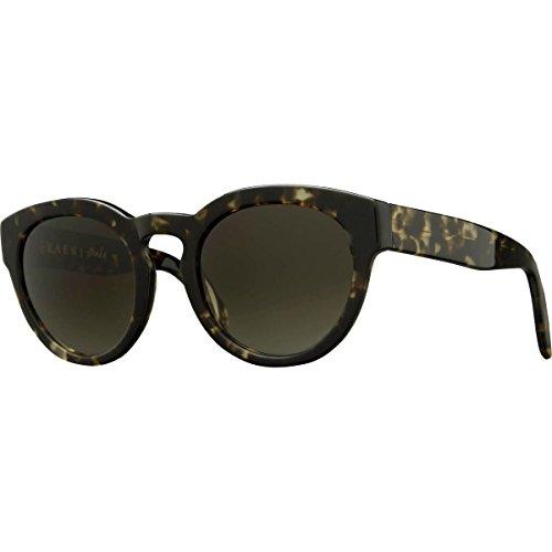 Raen Women's Strada Round Sunglasses, Brindle Tortoise, 54 - Sunglasses Raen