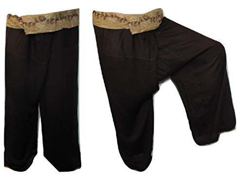 Acha - Pantaloni - Donna Brown