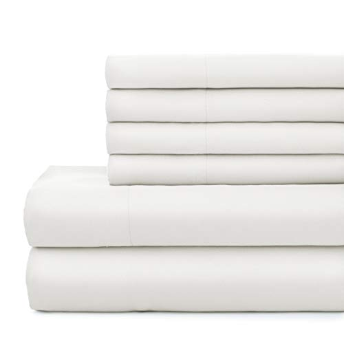 Southshore Fine Linens - Vilano Springs 4 Piece - 21 Inch - Extra Deep Pocket Sheet Set (Twin, Bright White)