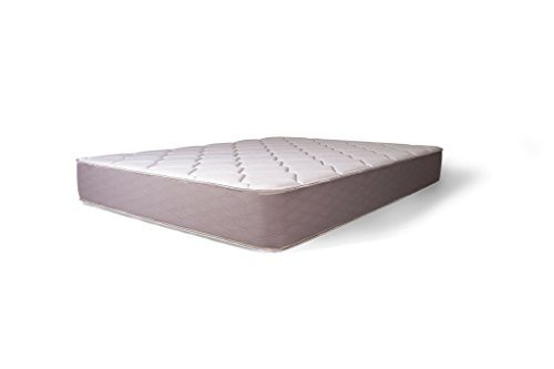 Dreamfoam Bedding Dream 9-Inch Two-Sided Medium Firm Pocketed Coil Mattress, Twin- Made in the ()