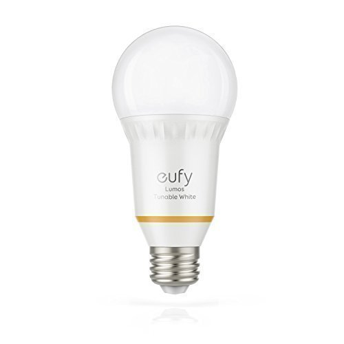 Eufy Lumos Smart Bulb - Tunable, Soft White To Daylight (2700K-6500K), 60W Equivalent, Works With Amazon Alexa & Google Assistant, No Hub Requires, Wi-Fi, Dimmable LED Bulb, 9W, A19, E26, 800 Lumens