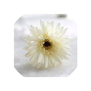 Artificial Flowers Silk Gerbera for Wedding Decoration DIY Sunflower Bouquet for Wedding Home Decor,3,10Pcs 57