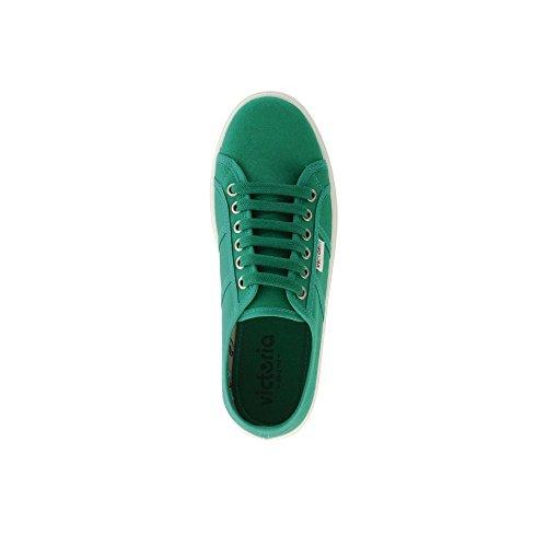 Victoria Blucher Lona - Botas para mujer Beige(Verde)