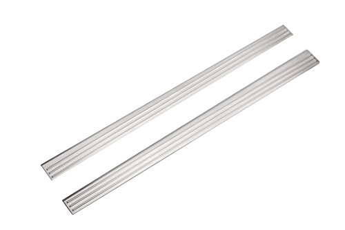 GM Accessories 17802605 Front Door Sill Plates in Brushed Stainless Steel
