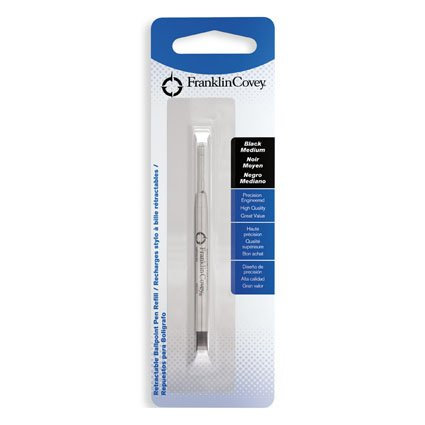 Retractable Ball Pen Refill 1 pk by FranklinCovey – Black