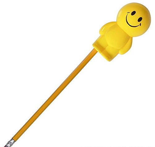 3.5'' SMILEY GUY PENCIL SHARPENER (24PC/UN), Case of 6
