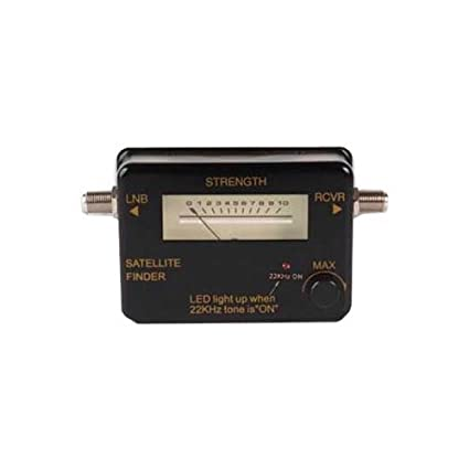 amazon com satellite signal meter finder strength level finder