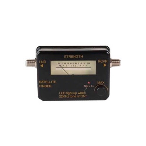 Satellite Signal Meter Commercial Grade Strength Level Finder