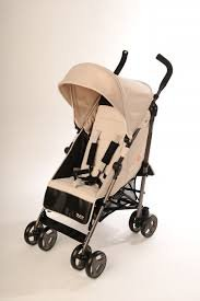 NJOY UP Rever - Carrito de paseo, color chocolate