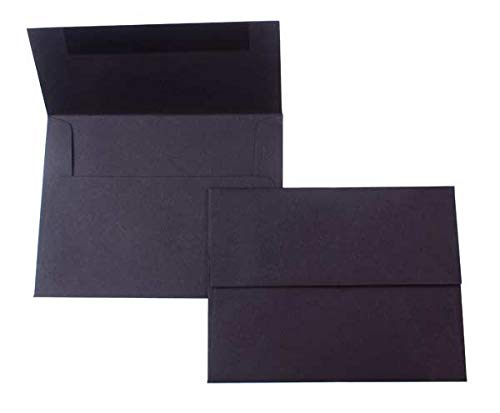 A9 Premium Opaque Black Envelopes 5.75'' x 8.75'' (25 pcs/Pack)