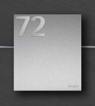 Briefkasten Edelstahl B1 Number (Anthrazit/Links): Amazon.de: Baumarkt