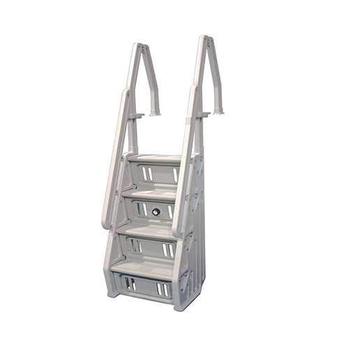 (Vinyl Works in-Step Ladder for Pools 46-60 Inches Tall)