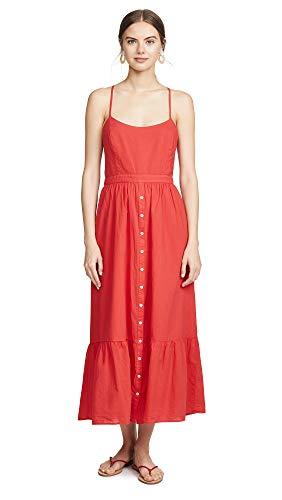 (XIRENA Women's Lena Dress, Red Torch, Small)