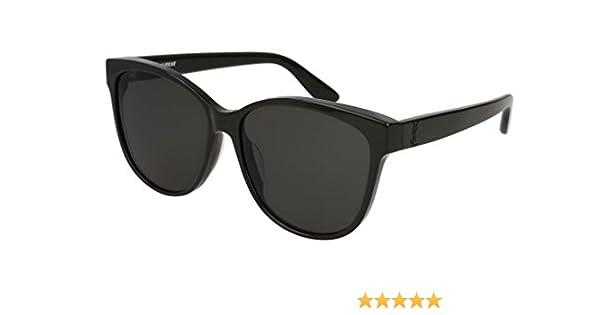 45e6f30ec2e6 Saint Laurent SL M23/k Sunglasses at Amazon Men's Clothing store: