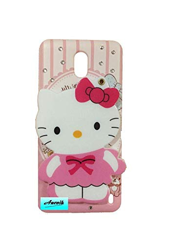 brand new bd100 a7053 Aarnik Makeup Mirror Hello Kitty with Stone Work Back: Amazon.in ...