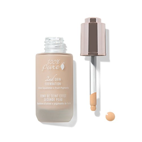 100% Pure 2nd Skin Foundation, Shade 2, 1.18 Ounce