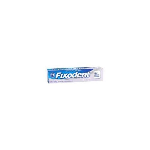 Fixodent Denture Adhesive Cream Neutral 2.4 Oz   Buy Packs And Save  Pack Of 3