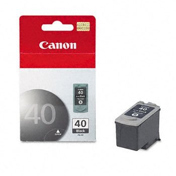 Canon® PG40 Ink Tank INKCART,PG-40,BK SD1GB231 (Pack of ()
