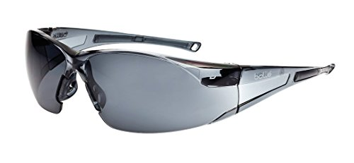 Bollé Safety 253-RH-40071 Rush Safety Eyewear with Rimless Frame and Smoke Anti-Fog/Anti-Scratch - Bolle Shop