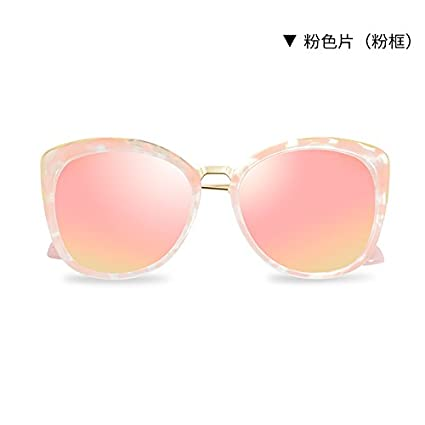 LLZTYJ Gafas De Sol, Comprimidos De Color Rosa Femenino ...