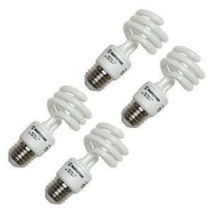 Westinghouse 3794200, 13W CFL Light Bulb, (60W Equal) 3500K Bright White 82 CRI 850 Lumen