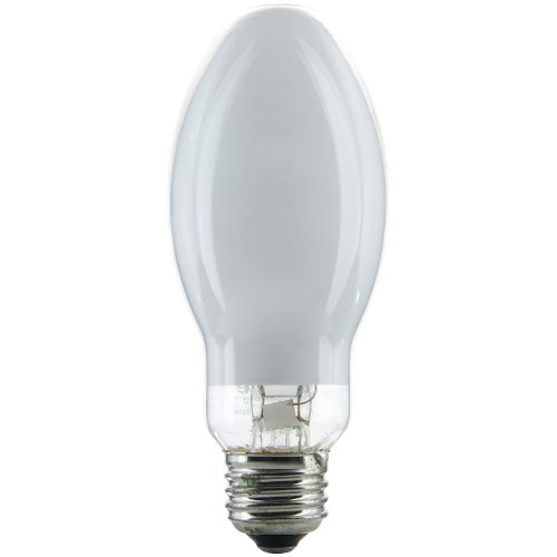 100-Watt Mercury Vapor ED17 H38 Bulb, Medium Base, Coated (100w Mercury Vapor Bulb)