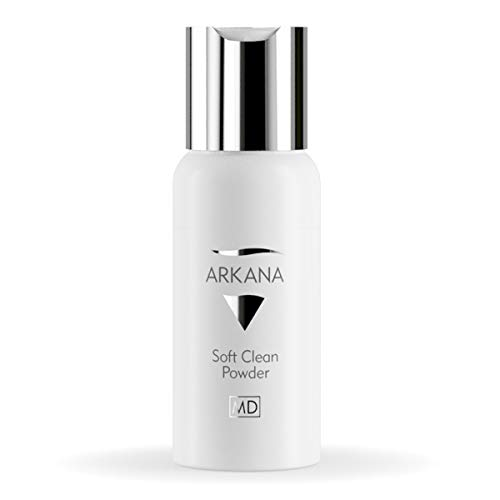 Luxury Face Cleansing Powder, Soft, Gentle and Smoothing, Powder Face Wash and Cleanser 50ml (1.7fl oz) Made in EU by Professional European Spa Brand Arkana
