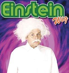 White Men's Einstein Mad Scientist Wig (Einstein Costume Wig)