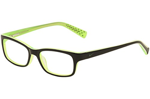 - Nike Eyeglasses 5513 001 Black/Green/Crystal Demo 47 16