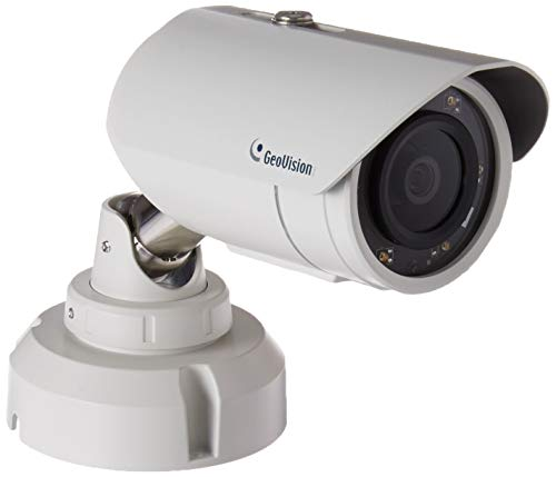 (GeoVision 2MP H.265 3.8mm IR Bullet Camera, White (GV-EBL2702-2F))
