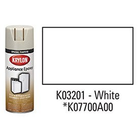 Krylon 3201 12 Oz Appliance Epoxy Ultra Hard Finish