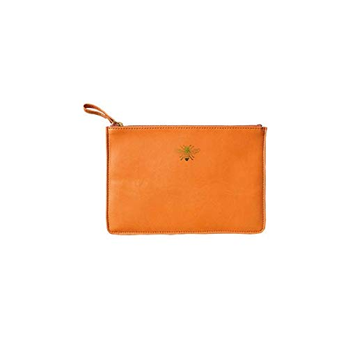 Portico Sky Orange Bee Designs Pouch Miller Zip FgFxvwPq