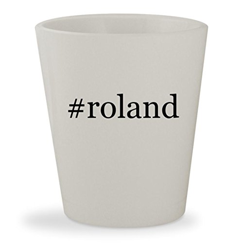 Price comparison product image #roland - White Hashtag Ceramic 1.5oz Shot Glass