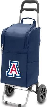 PICNIC TIME NCAA Arizona Wildcats Digital Print Cart Cooler, One Size, Navy